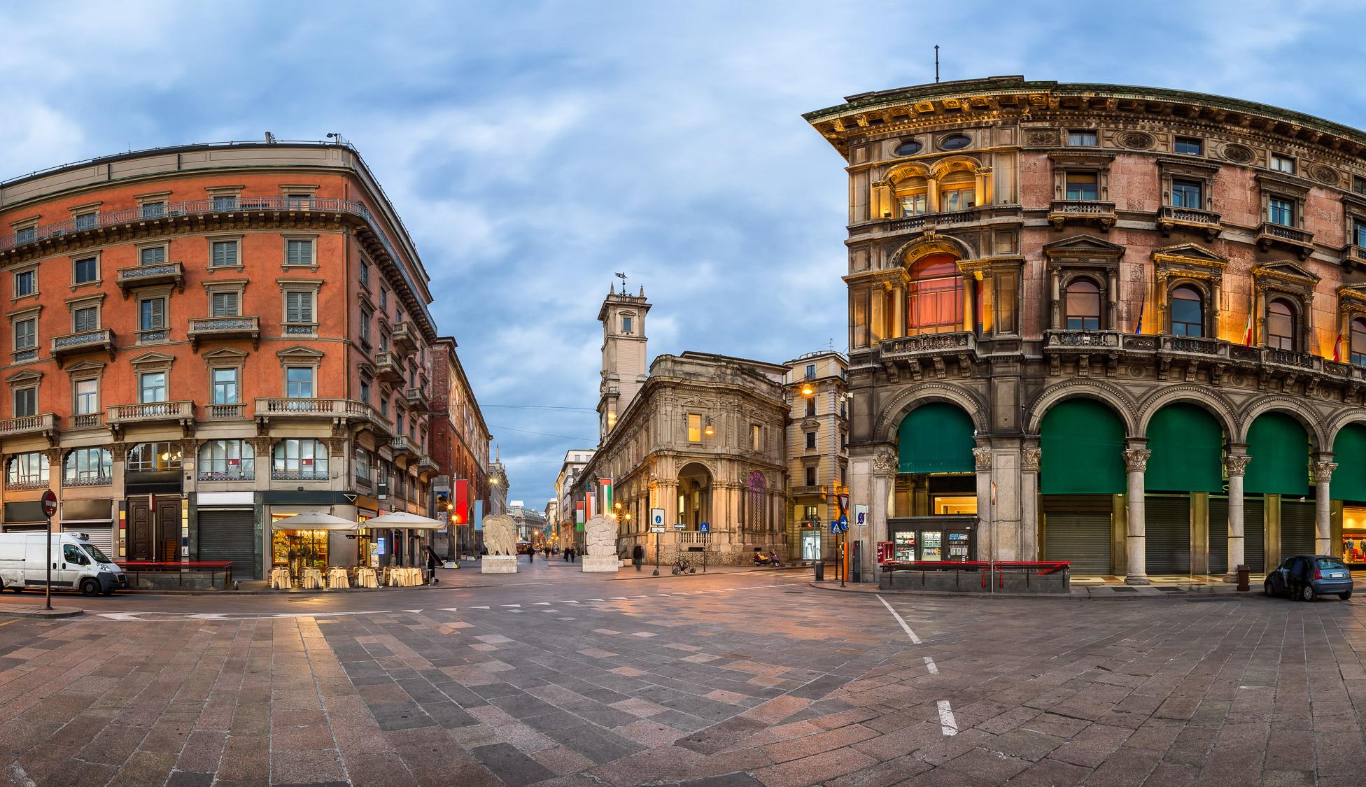 Imagini pentru piazza del duomo milano