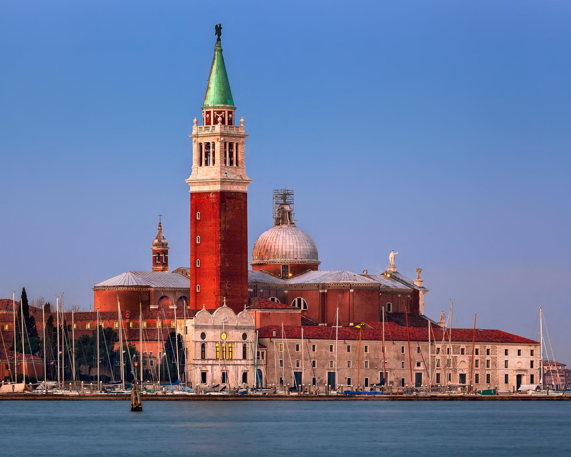 San Giorgio Maggiore Church in the Morning, Venice, Italy