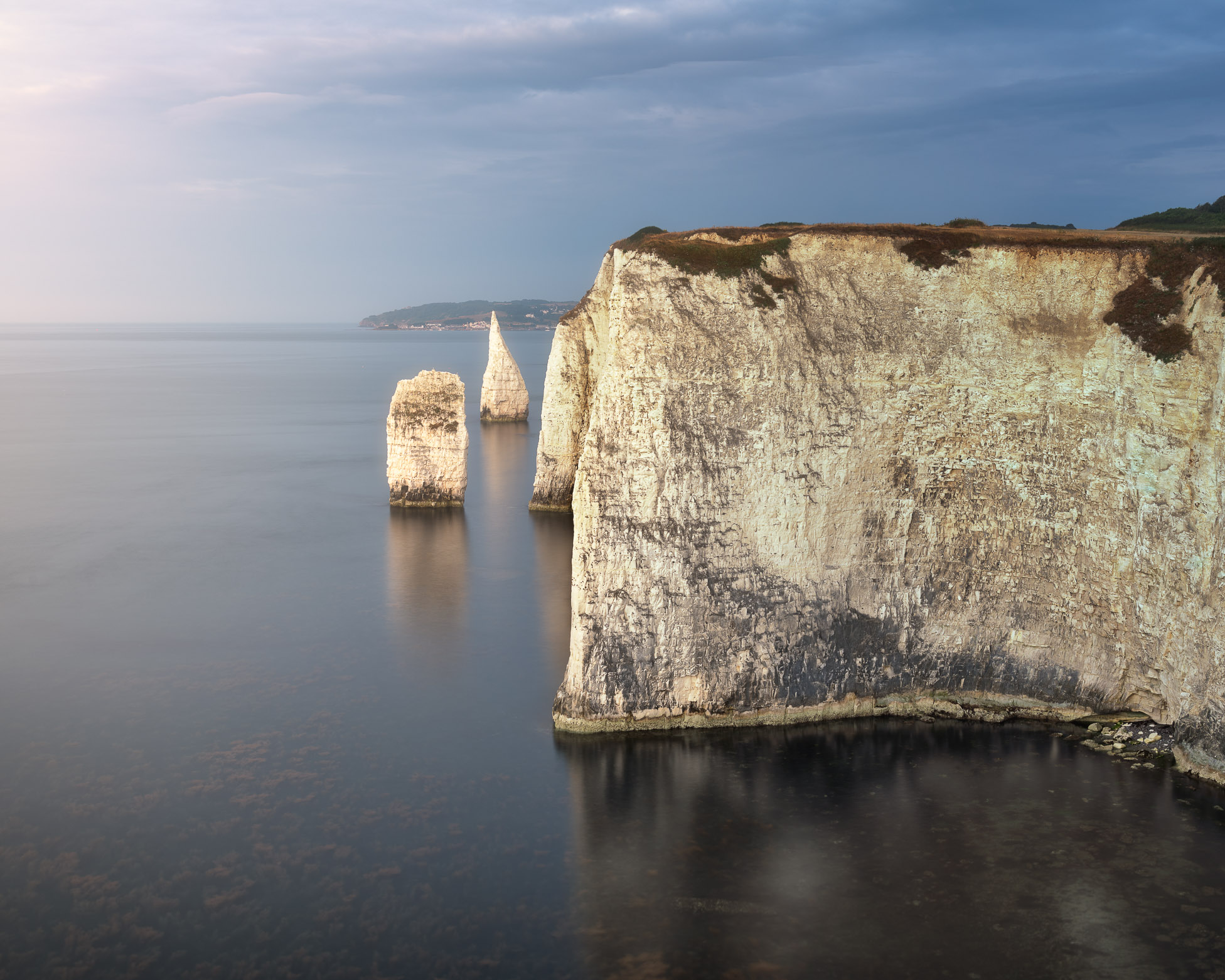 Old Harry Rocks in the Morning, Dorset, United Kingdom