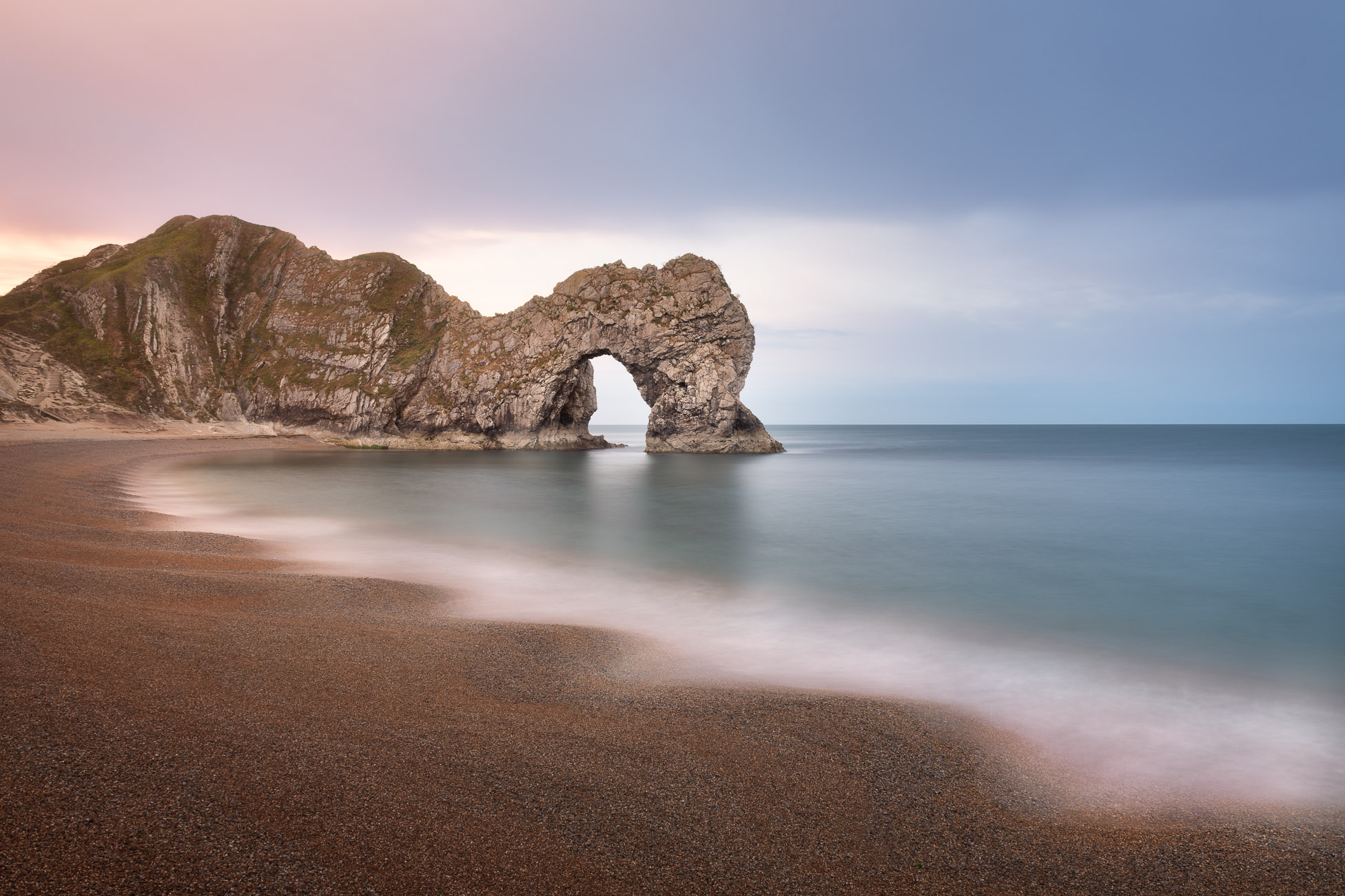 Durdle Door in the Morning, Dorset, United Kingdom