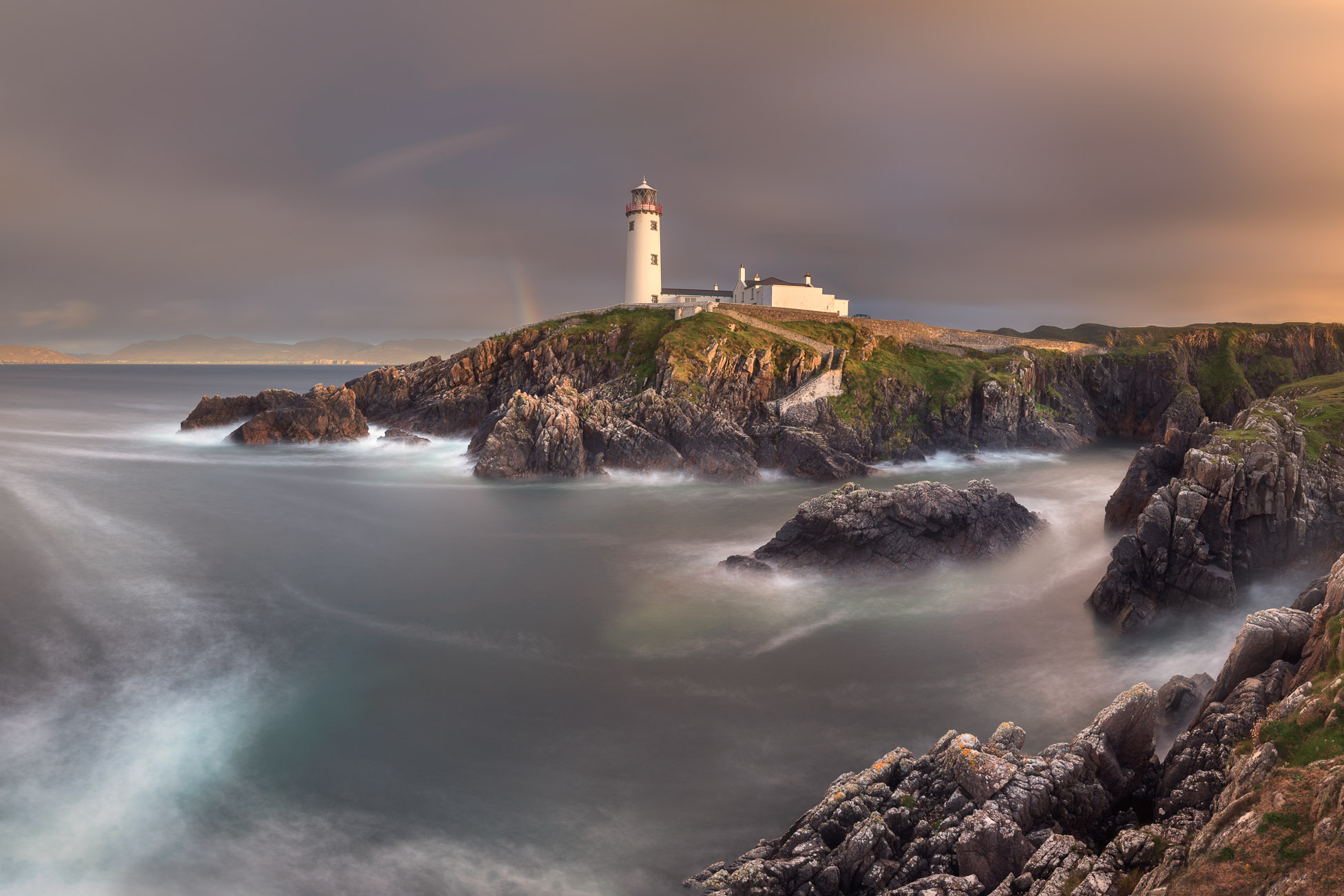 Fanad Lighthouse in the Evening, County Donegal, Ireland